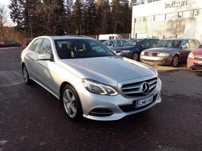 käytetty Mercedes E220 CDI, Suomi-auto, Rahoitus jopa ilman käsirahaa!!
