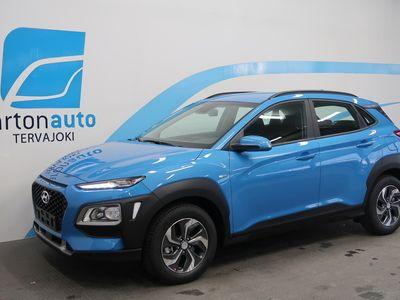 käytetty Hyundai Kona 1,6 hybrid 141 hv 6-DCT Comfort MY20 **EKOETU 2500€** Rahoituskorko 0% + kulut!