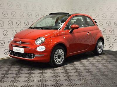 käytetty Fiat 500C 1,0 70hv Hybrid MT Lounge - Uusi 500 Hybrid nopeaan toimitukseen, korkotarjous 0.99%