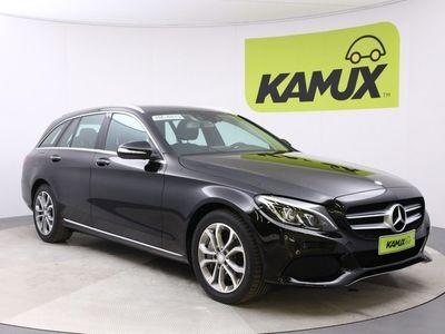 käytetty Mercedes C350e Plug-in Hybrid Avantgarde // Navigointi / HUD / Burmester äänentoistojärjestelmä / ILS //
