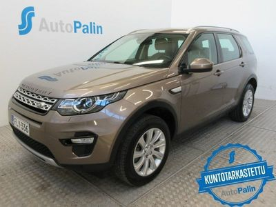käytetty Land Rover Discovery Sport 2,0 TD4 180 HSE A