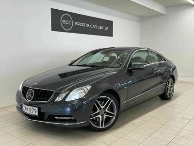 käytetty Mercedes E350 CDI Coupe, Distronic Plus, Nappanahka optopedit tuuletuksella, Harman/Kardon, Comand, ILS valot