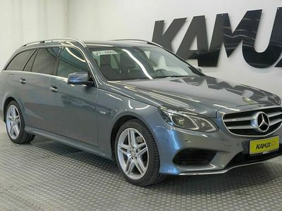 käytetty Mercedes E220 BlueTec T 4Matic A Premium Business / LED / Koukku / Navi / Juuri tullut / Kuvat tulossa /