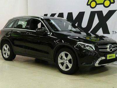 käytetty Mercedes GLC220 d 4Matic 9G-Tronic Business / ALV- / Navi / Vetokoukku / Nahka verhoilu / Sport penkit / Parkkitutkat /