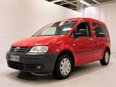 käytetty VW Caddy Life 1,9 TDI 77 kW - Hyvällä huoltohistorialla ! Tuulilasi ja uudet nastarenkaat vaihdettu ! *Seura