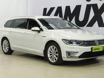 käytetty VW Passat Variant GTE Plug-In Hybrid 160 kW *Alv- / Adapt.vakkari / Peruutustutkat / Nahka-Alcantara verhoilu