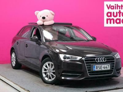 käytetty Audi A3 Sportback Open Sky Edition 1,6 TDI 81 kW #Juuri tullut #Panorama #Juuri huollettu