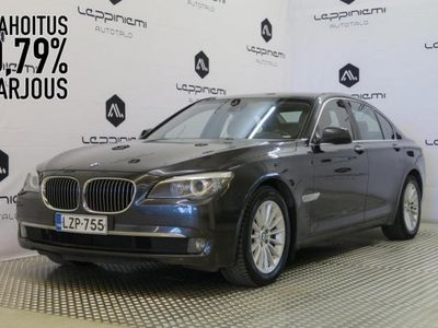 käytetty BMW 730 D A F01 Sedan * HUD * Soft-close * Prof.Navi * Vaihto * Rahoitus *