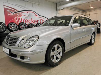 käytetty Mercedes E320 CDI Elegance, 1 omistaja!, Bi-Xenon, Nahat, Koukku ym..Rahoitus vaikka ilman käsirahaa ja kotiinto...