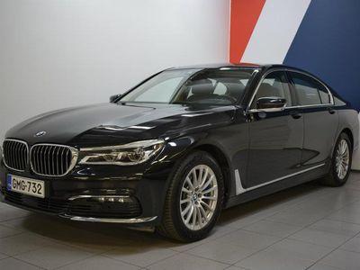 käytetty BMW 740 7-SARJA G11 Sedan d A xDrive Bsn Excl *Huippuvarusteet*