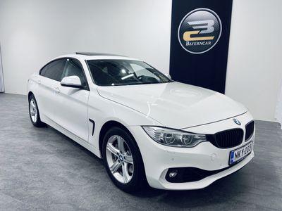 käytetty BMW 435 Gran Coupé F36 dA xDRIVE **PROF.NAVI, HIFI, HUD, LISÄTURVA ALK. 9€/KK & KORKOTARJOUS ALK. 0,89%**