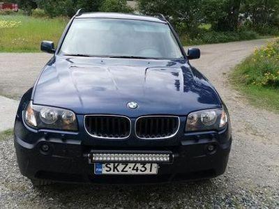 käytetty BMW X3 vm 2004