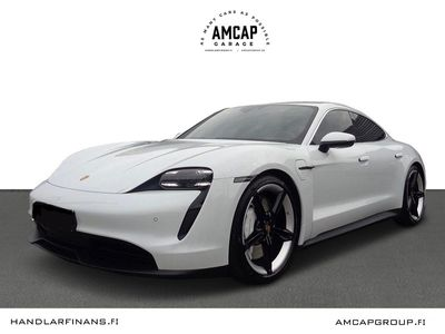 "käytetty Porsche Taycan 4S 420kW Performance Battery Plus, 21"" Mission E, PCSB, PDLS+, Bose, Peruutuskamera,."