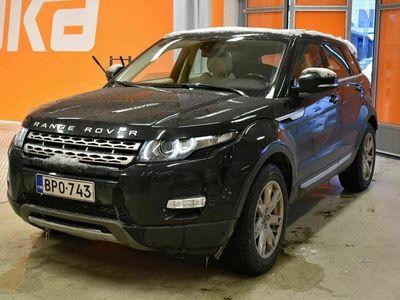 käytetty Land Rover Range Rover evoque 2,2 SD4 Dynamic Aut
