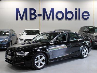 käytetty Audi A4 Sedan TDI Edition 2,0 TDI clean diesel 140 kW quattro S tronic / S Line / Webasto / Tutkat / Kotiintoimitus