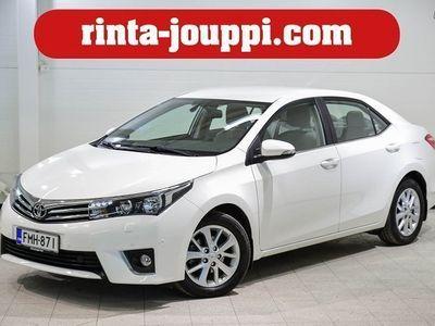 käytetty Toyota Corolla COROLLA 1,6 Valvematic Comfort Multid S (MY16.B - Suosittuautomaatilla ja vaalealla sisustalla