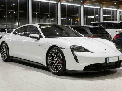 käytetty Porsche Taycan 4S 420kw Performance Battery, Adapt. vakkari, Electric Sound, Bose, 5hlö