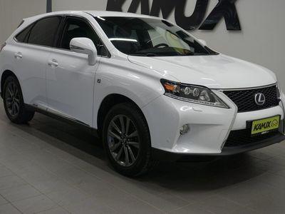 """käytetty Lexus RX450h Hybrid 4WD F Sport A """"Mark Levinson / Navi / Nahat / Kamera / Hud / Sähköpenkit / Keyless"""""""