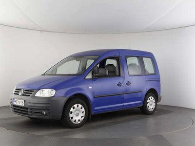 käytetty VW Caddy Kombi 1.6 Life - TAVARAT YM. MAHTUVAT REILUSTI MUKAAN