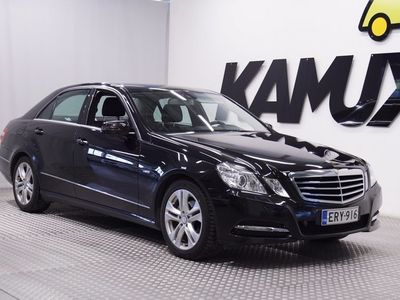 käytetty Mercedes E220 CDI BE A Business Avantgarde * NAVI / BI-XENON / PUOLINAHKA *
