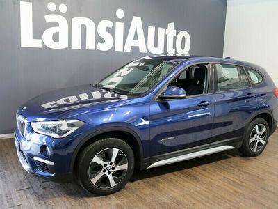 käytetty BMW X1 F48 xDrive25d A **Navi, sähköpenkit muistilla** **** BLACK FRIDAY: Tähän autoon valitsemasi 500 € lahjakortti kau...