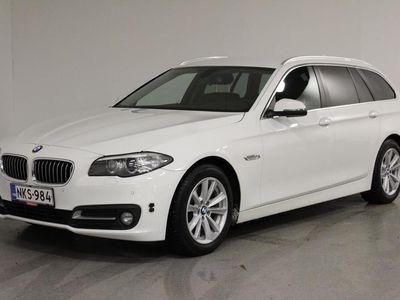 käytetty BMW 520 5-SARJA F11 Touring d A xDrv Exclusive Edt(17 - Tyylikäs ja tilava neliveto hyvällä huoltohistorialla!