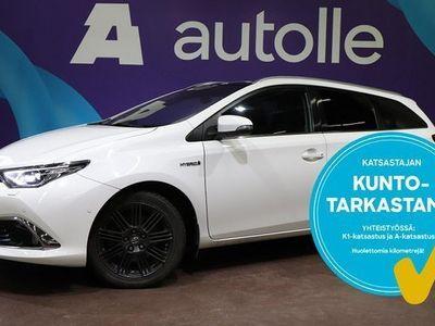 käytetty Toyota Auris KOTIINTOIMITUS1.8 Touring Sports Hybrid Premium Business A. Tarkastettuna, Rahoituksella, Kotiin toi
