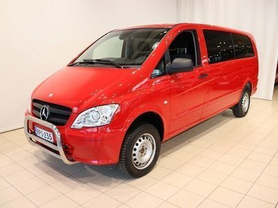 käytetty Mercedes Vito 116 CDI 4x4 pitkä A3 A Business 9-paikkainen - Nyt kotiintoimitus veloituksetta!