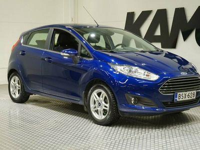 käytetty Ford Fiesta 1,0 EcoBoost 100hv Start/Stop Titanium M5 5-ovinen / Suomi-auto / Autom.ilmastointi / Vakionopeudensäädin