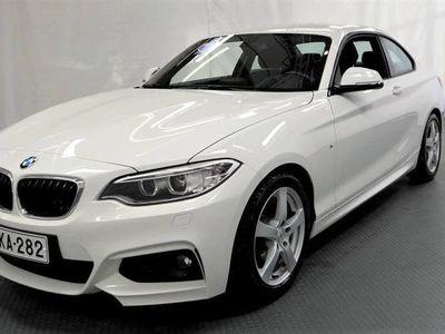 käytetty BMW 220 2-sarja F22 Coupe d A Business M Sport -HIENO SUOMI-AUTO-