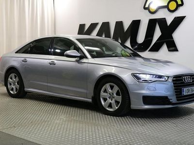 käytetty Audi A6 Sedan Business Sport 3,0 V6 TDI 200 kW quattro S tronic # WEBASTO, NAHKAVERHOILU # SPORTTIPENKIT #