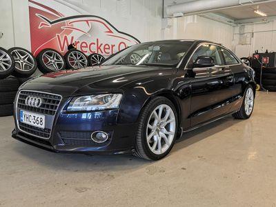 käytetty Audi A5 1.8 TFSI 125kw Coupe, Merkkihuollettu, Xenonit, Vakkari, Rahoitus vaikka ilman käsirahaa ja kotiintoimituskin!