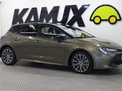käytetty Toyota Corolla Hatchback 2,0 Hybrid Style / Uudet Nastarenkaat / Adaptiivinen Vakionopeudensäädin / P-Kamera / Vaihtoehto uudelle / Huippu siisti / Isommalla 2.0 Koneella 112 kw/ Vaihtoehto uudelle /