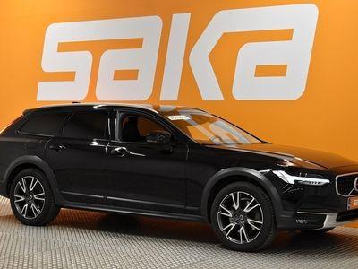 käytetty Volvo V90 CC T5 AWD Pro aut ** Webasto / VOC / Pilot Assist / BLIS / Navi / KeyLess / Nahkasisusta / Muistipenkki