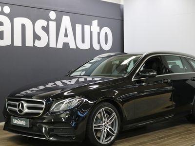 käytetty Mercedes E220 T 4Matic AMG-line **** LänsiAuto Safe -sopimus hintaan 590€. ****