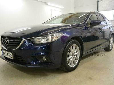 käytetty Mazda 6 6 Sport Wagon 2,0 (145) SKYACTIV-G Premium 6MT 5ov TA2 - Todella siisti hyvillä varusteilla.