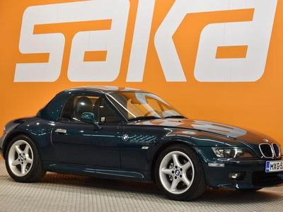 käytetty BMW Z3 Roadster 2,8 Super siisti! ** Manuaali / Nahat / Sporttipenkit / Boston Green **