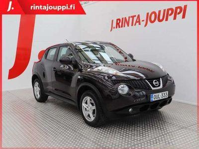 käytetty Nissan Juke 1,6L Acenta 2WD CVT Connect*Navi,peruutuskamera,Vähän ajettu* *** J. autoturva saatavilla, J. kotiin