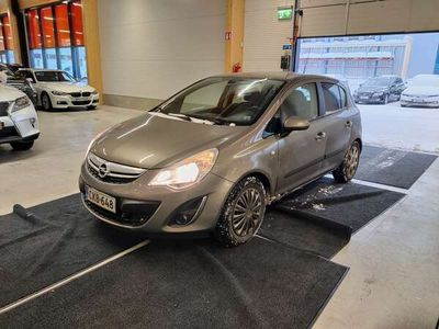käytetty Opel Corsa Black Line 1,2 ecoFLEX 63kW ** Navi / Lohko + sisätilanlämmitin / Vakkari / AUX **