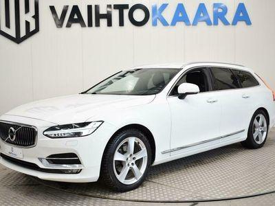 käytetty Volvo V90 D4 190 Hv AWD Inscription Aut # Webasto, On Call, Sähkö Takaluukku, Vetokoukku, Kaistavahti, A