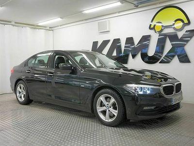 käytetty BMW 520 520 G30 Sedan d A xDrive Sportline / 1-Omisteinen Suomi-auto / Sportpenkit / Älyavain / Peruutuskamera / Merkkihuollot /