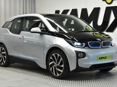 """käytetty BMW i3 60 Ah REX Aut 125kW / PROF.NAVI / BT AUDIO / LED VALOT / P-TUTKA / VAKKARI / 2 x 19"""" VANTEET JA RENKAAT /"""
