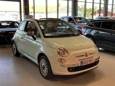 käytetty Fiat 500C 1,2 69hv Pop Start&Stop ** Juuri saapunut! / Rättikatto / Upea! **