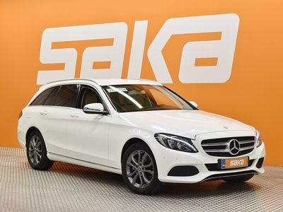 käytetty Mercedes C220 d 4Matic T A Premium Business Avantgarde ** TULOSSA KOUVOLAAN! / Webasto / Sporttipenkit / Vetokoukku **