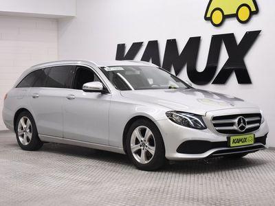 käytetty Mercedes E200 T A Business / Koukku / Navi / Peruutuskamera /