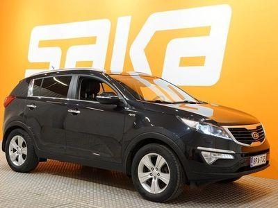 käytetty Kia Sportage 2,0 AWD CRDi-R EX ** 1-Om Suomi-auto / KeylessGo / Panorama / Puolinahat **