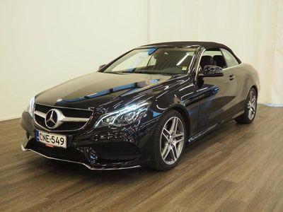 käytetty Mercedes E200 Cabriolet A - AMG-paketti, Navigointijärjestelmä, ILS-valot, Ortopedisäädöt etuistuimissa, Sä