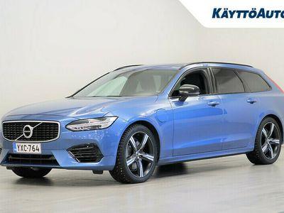 "käytetty Volvo V90 T8 TWE AWD R-DESIGN AUT ""SUOMI-AUTO"""