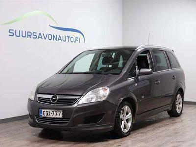 käytetty Opel Zafira 5-ov Enjoy Edition 1,9 CDTI DPF 88kW/120hv M6 - Tila-auto 7-henkilölle