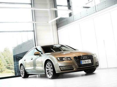 käytetty Audi A7 3,0 V6 TDI Quattro Aut + Nahat + Bluetooth + BiXenon + Tutkat + Ilmajousitus